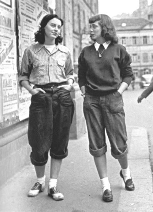 sepatu pantofel wanita 1950