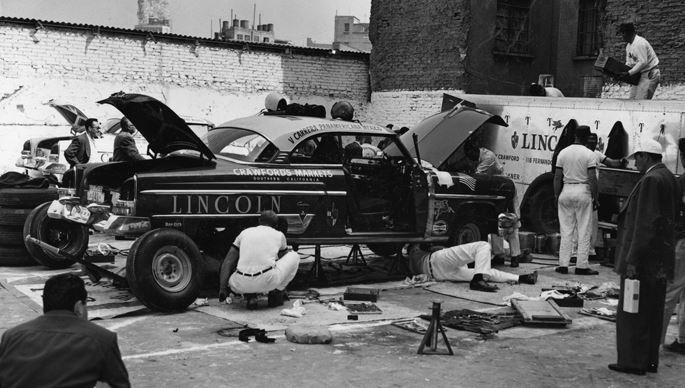 c3d3606a94 Just A Car Guy  Lincoln getting a parking lot repair