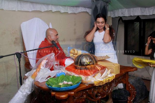 actress Rashmi Paboda Sandeepani's  4th Wedding Anniversary