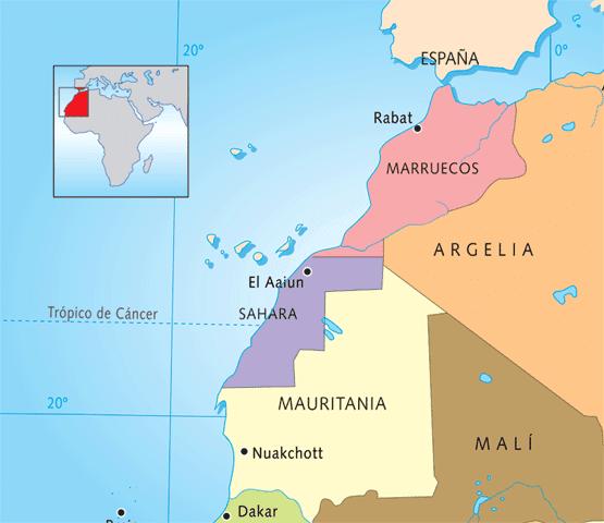 Los  territoritos ocupados del Sáhara Occidental, quedan excluido de todo tipo de financiación de la UE para proyectos marroquíes de energías renovables