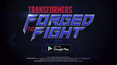 TRANSFORMERS Forged to Fight Mod Apk + Data v5.1.0 God Mode Terbaru