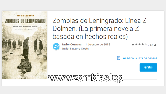 Libro Zombies de Leningrado