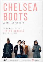 Concierto de Chelsea Boots en Teatro Barceló