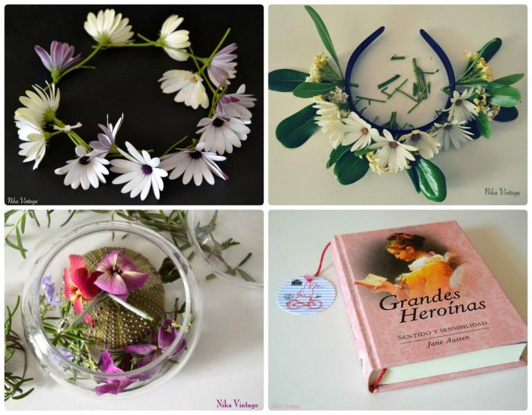 diy, hazlo tu mismo, lista, listado, manualidades, craft, repaso del año,corona margaritas, diadema flores, caja cristal, marca paginas