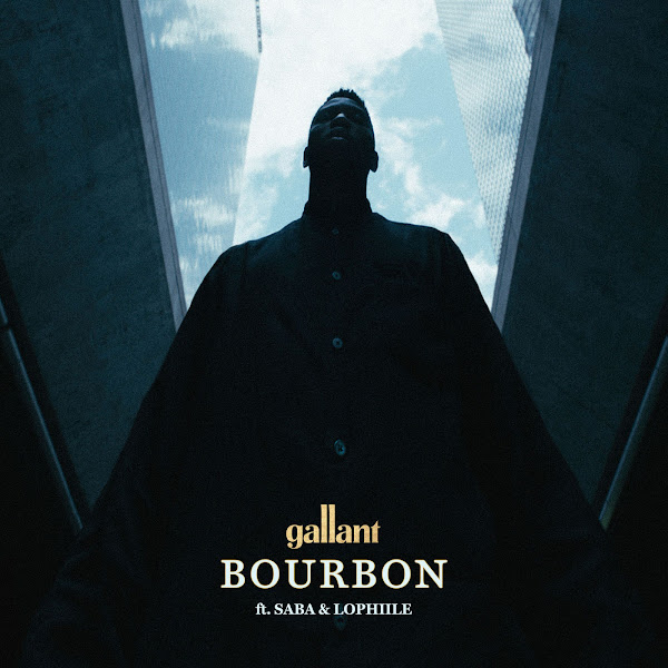 Gallant - Bourbon (feat. Saba & Lophiile) - Single Cover