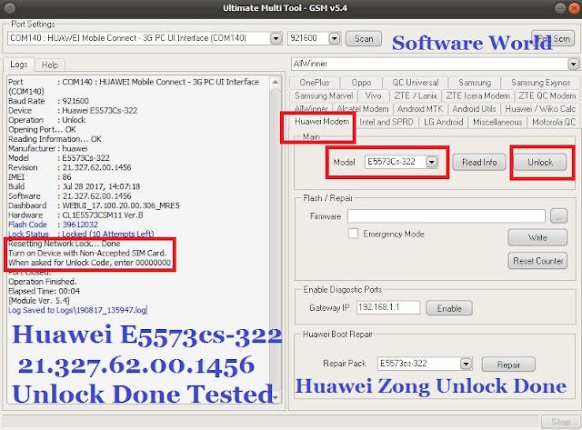 HUAWEI ZONG WIFI MODEM E5573CS-322 - 21 327 62 00 1456