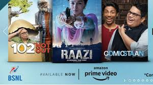 Amazon Prime Subscription free with BSNL, such leverage offer benefits