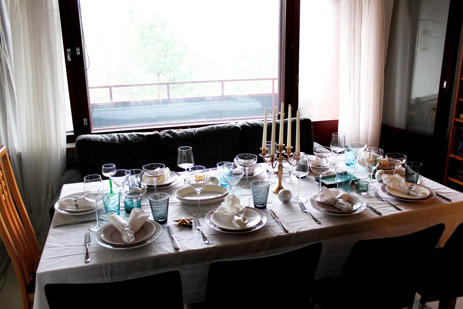#pre #christmas, dinner, table, setting, kattaus, pikkujoulu, joulu, pöytä, illallinen, food, ruoka, päivällinen, ateria, meal