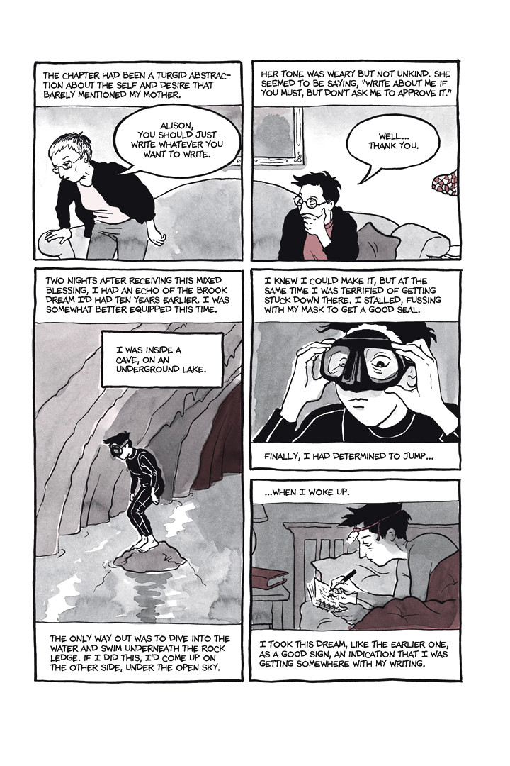 Page 16, Chapter 1: Ordinary Devoted Mother from Alison Bechdel's graphic novel Are You My Mother