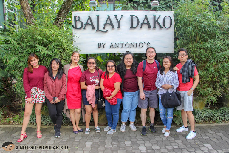 Team FMD and Renz Cheng in Balay Dako, Tagaytay