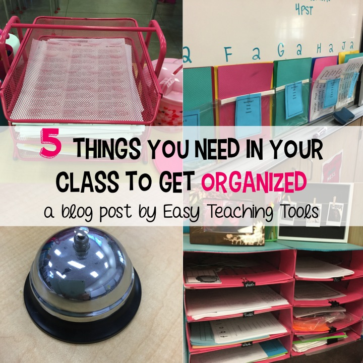 My Favorite Teaching Supplies I Can't Live Without to Get Organized