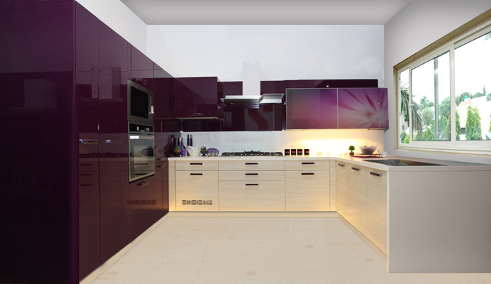 How to design the interior of your modular kitchen how for Latest interior design for kitchen