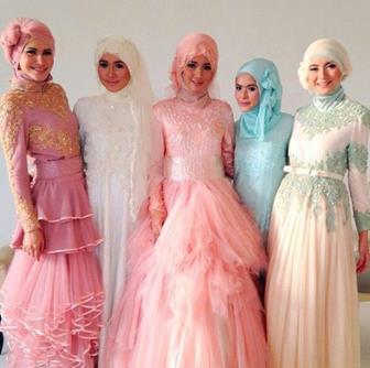 Kebaya Muslim Model Modern Paling Terbaru