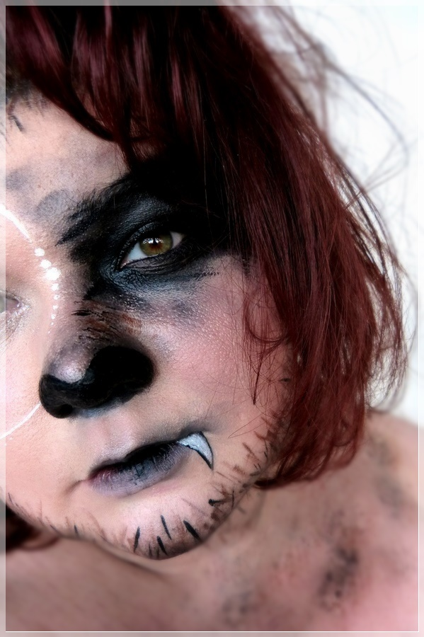 werwolf makeup