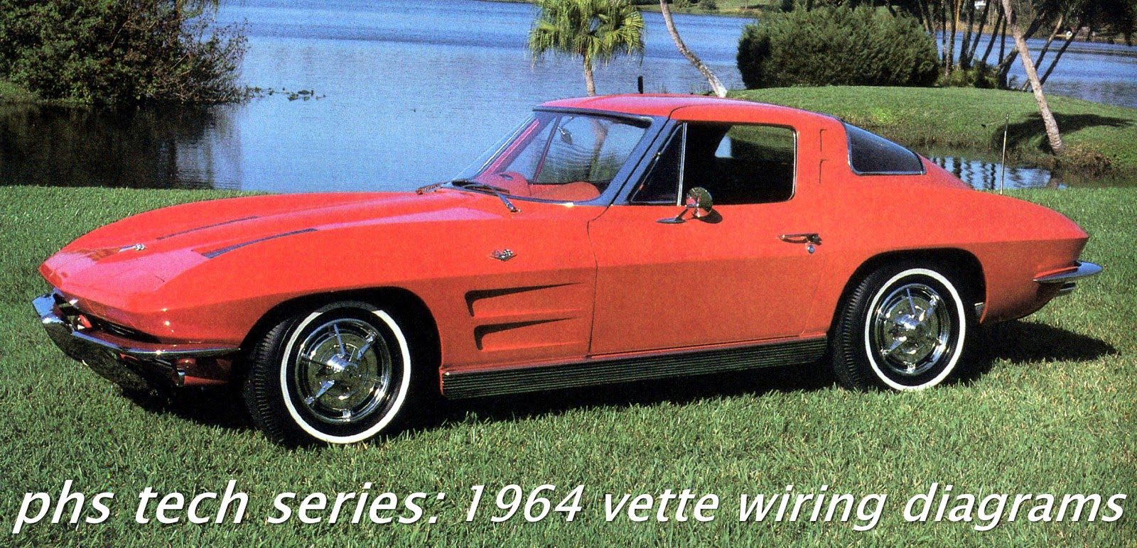 on older performance cars such as the mid year sharks, wiring is often  absent, awol or fubar especially if they were drag cars or un restored  vehicles and