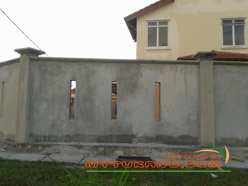 Rekabentuk Pagar Rumah Teres Desainrumahid Com