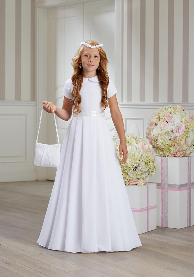 cdae6155fa Idealna sukienka komunijna - skromna a zarazem elegancka!