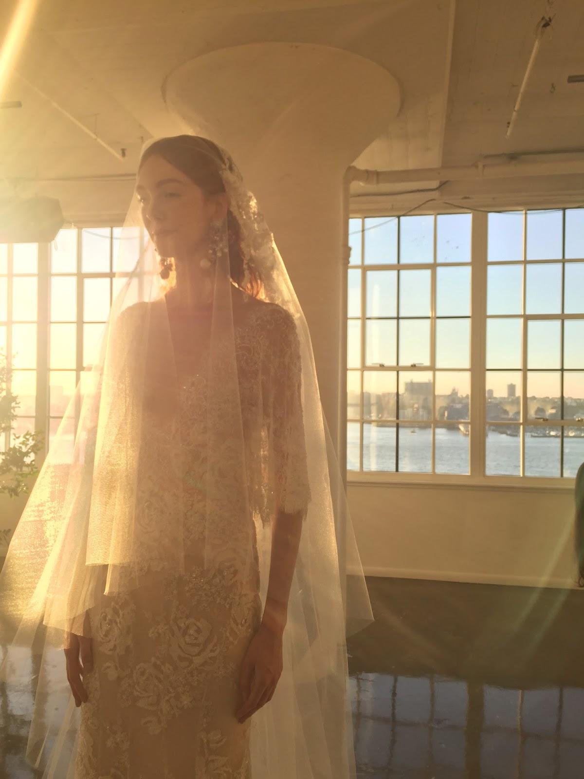 Marchesa FW 17 Bridal Presentation