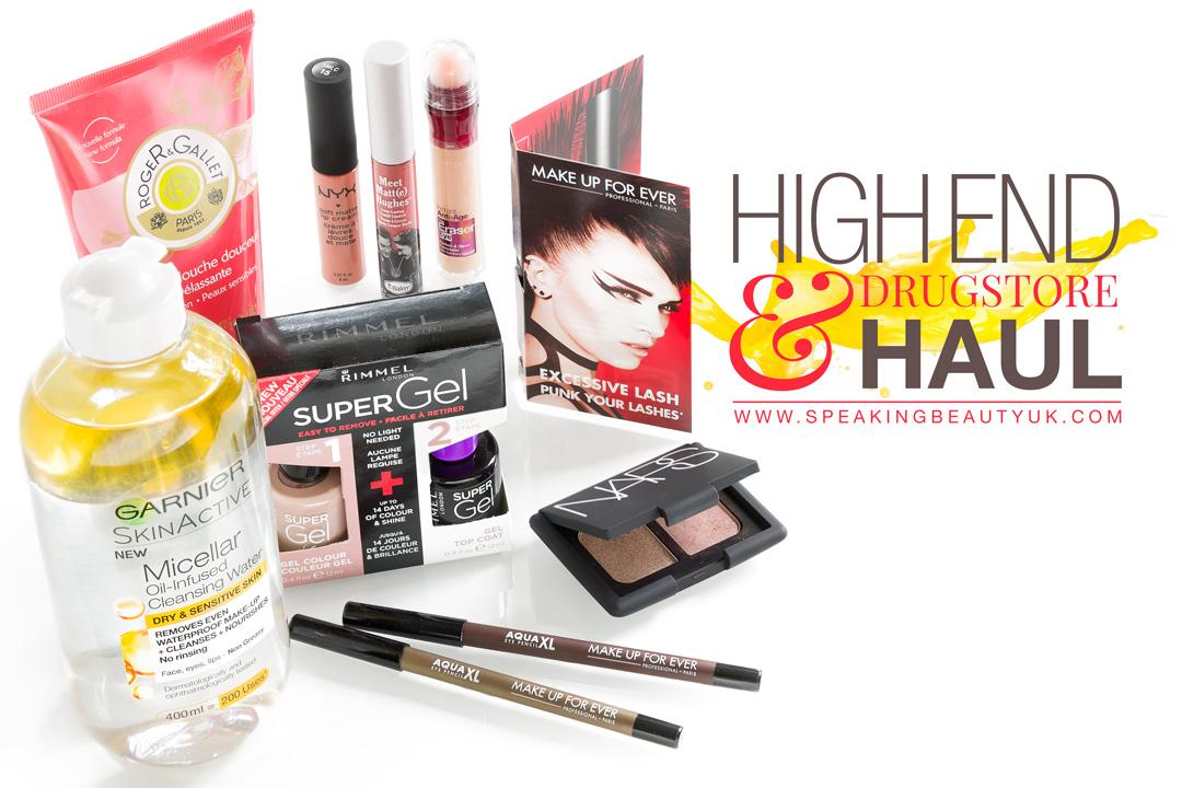 Beauty Haul | High End & Drugstore