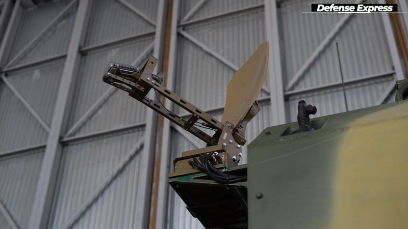 Антена супутникового зв'язку УСПУ-360