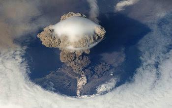 Volcan en Hawaii