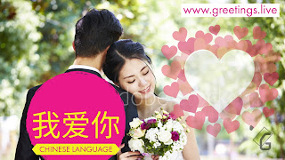520 HD I love  you in Chinese Language 我爱你