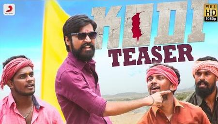 Kodi – Tamil Song Teaser | Dhanush, Trisha | Santhosh Narayanan