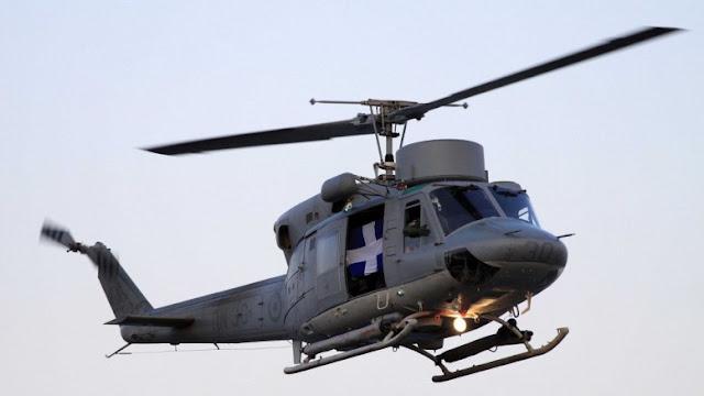 Πτώση ελικοπτέρου του Ελληνικού Πολεμικού Ναυτικού στο Αιγαίο