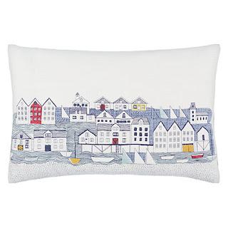John Lewis Nordic Houses Cushion