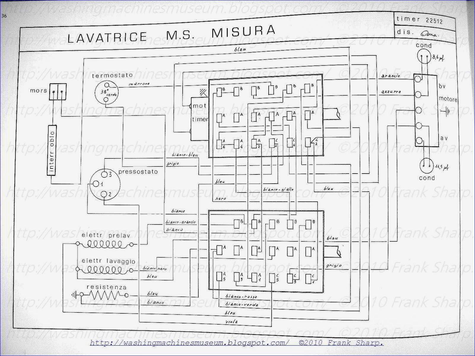 Washer Rama Museum.: CANDY M.S. MISURA TIMER 22512