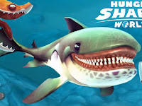 Hungry Shark World Apk + Data v1.8.4 Mod (Unlimited Money) Terbaru