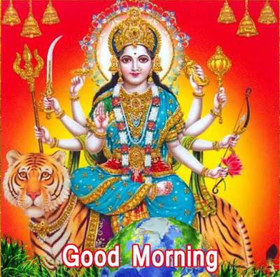 Good Morning Images With Durga ji
