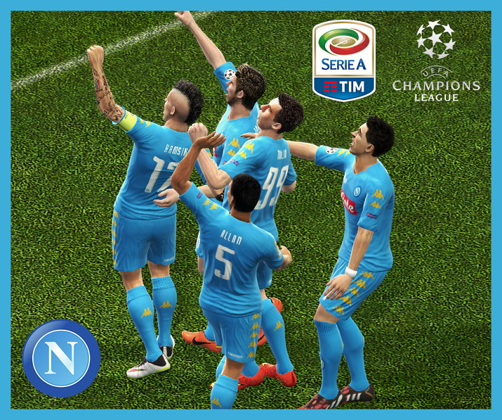 GDB SSC NAPOLI 2016/17 Update by Guitar®