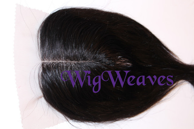 Custom Lace Closure with a Defined Center Part
