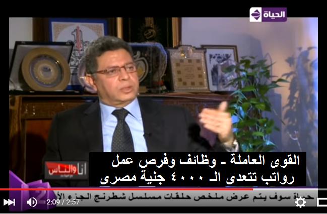 وظائف وزارة القوى العاملة للمصريين داخل وخارج مصر ورواتب تتعدى 4000 جنية والاستلام فوراً