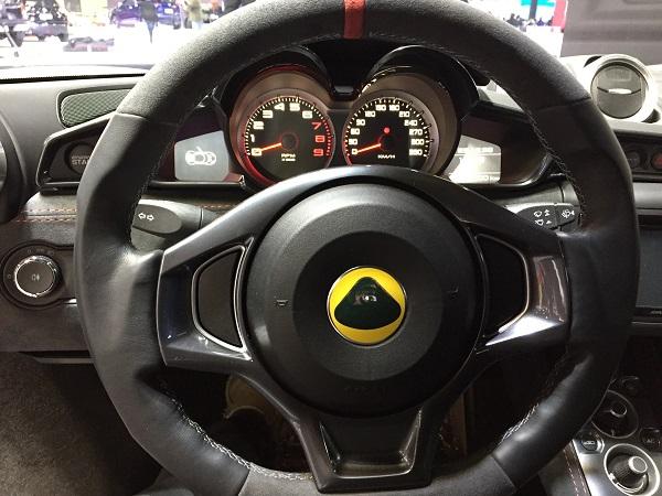 Interior Lotus Evora 410 Sport