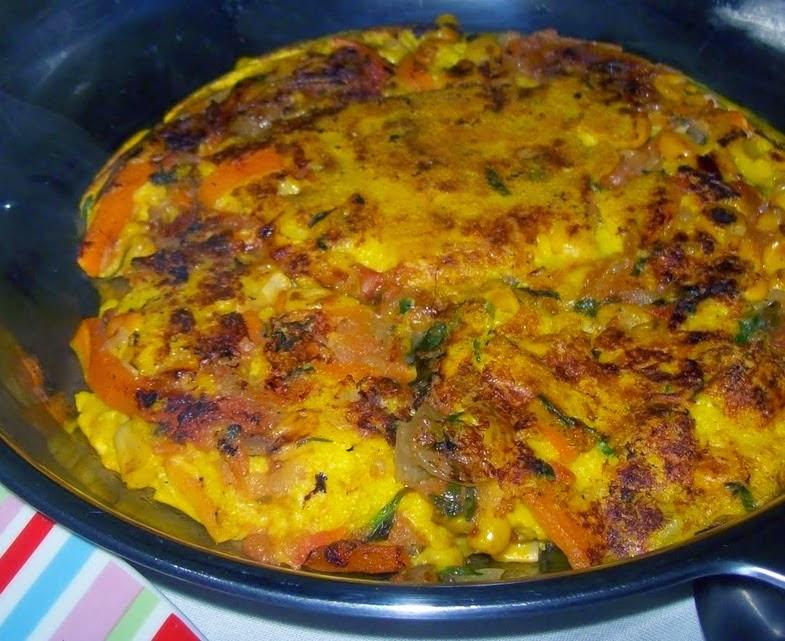 Como fazer omelete de ovo