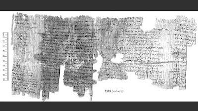 papiros egipcios de 1.700 años