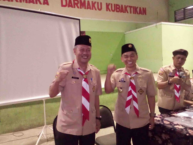 Ojang Diberhentikan Secara Terhormat Sebagai Ketua Kwarcab Pramuka Subang