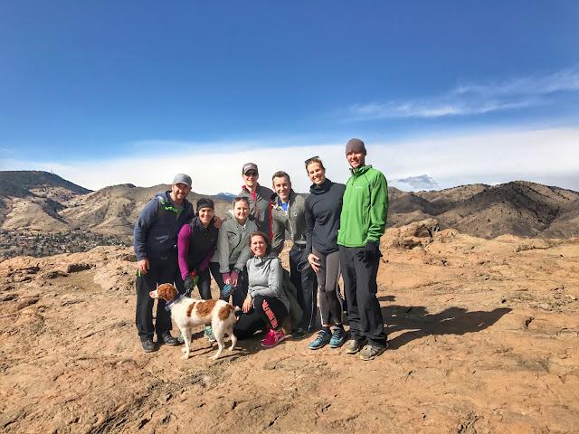 South Table Mesa group hike