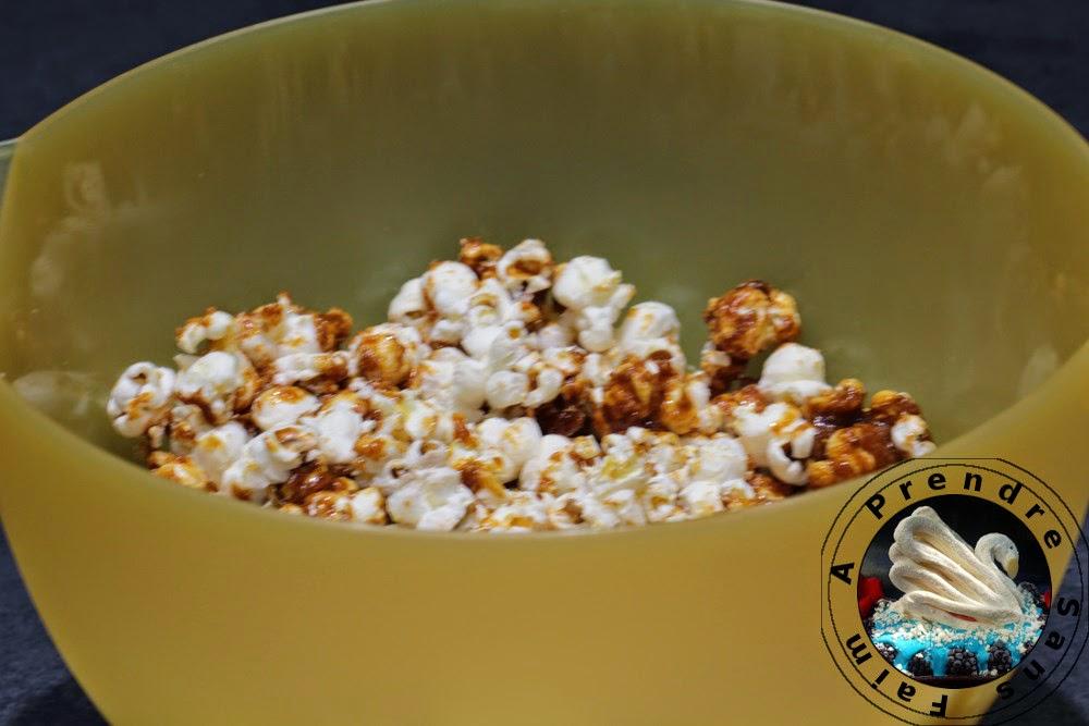 Pop-corn caramélisés de Gordon Ramsay