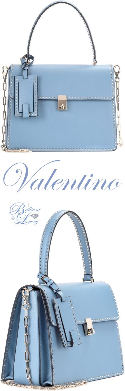 Brilliant Luxury ♦ Valentino Garavani Rockstud leather tote