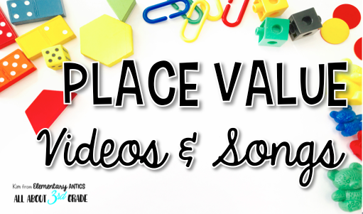 Place value songs and videos are a great way to engage your students!