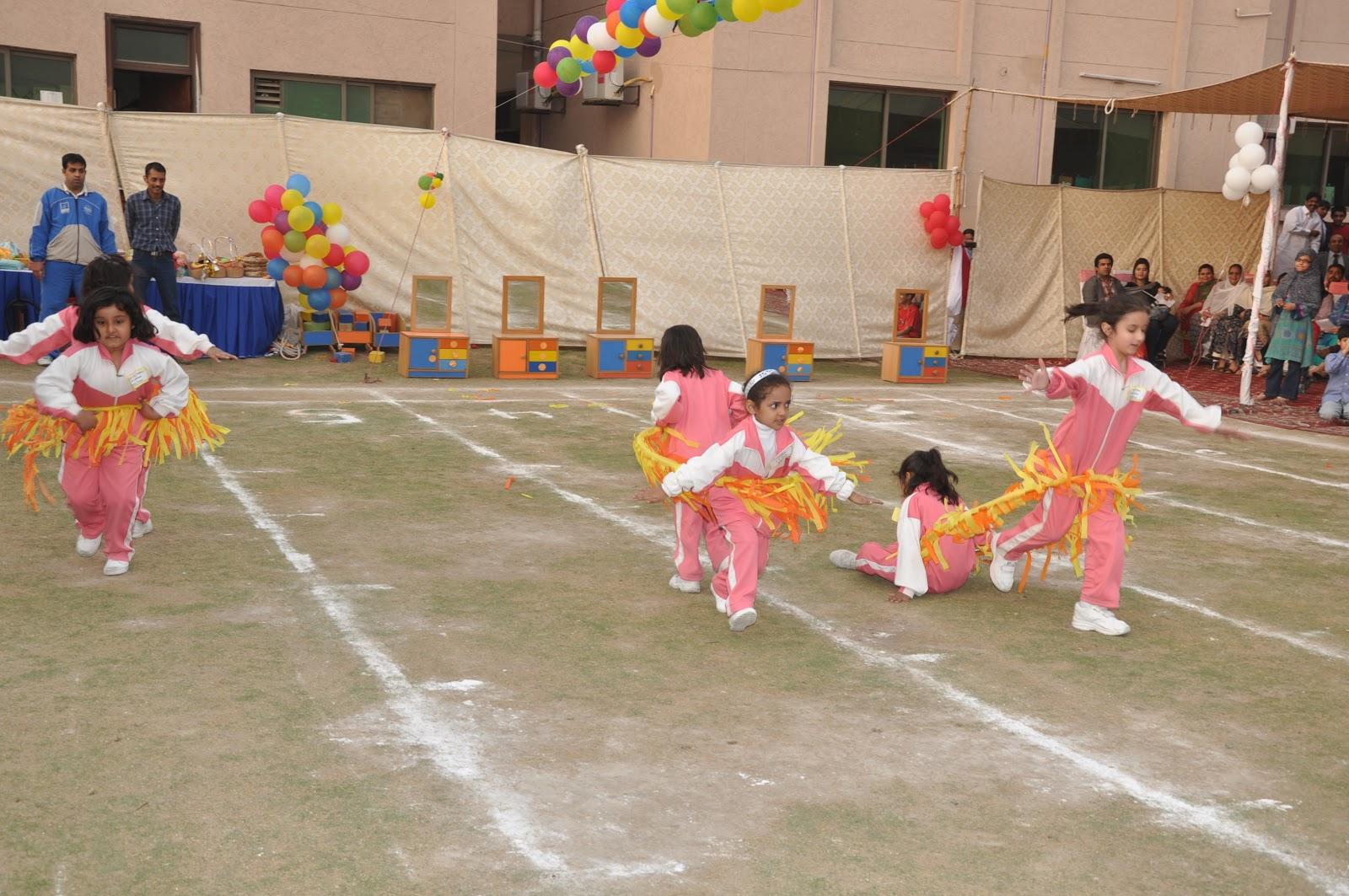 Sports gala in my school