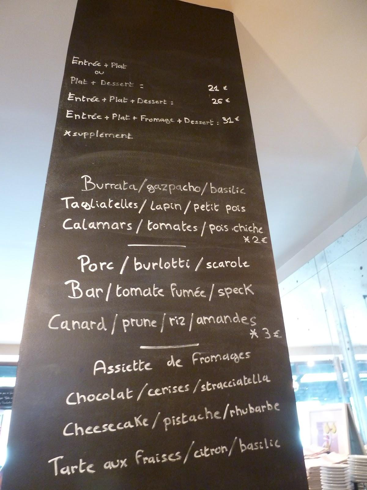 Menu Restaurant La Fermette Marbeuf Paris  Ef Bf Bdme