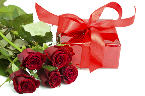 Romantic gift emoticon