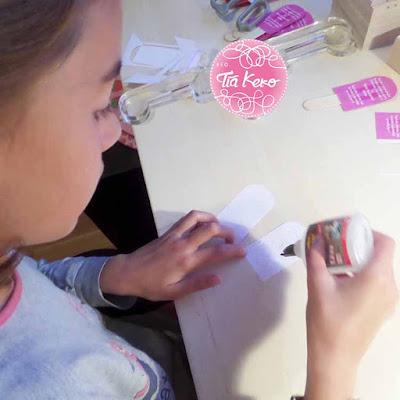 Tía Keko y manualidades con papel