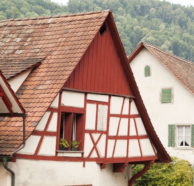Great Places to Visit Near Zurich: Half-timbered house in Stein am Rhein