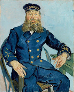 Retrato do Carteiro Joseph Roulin, início de agosto de 1888