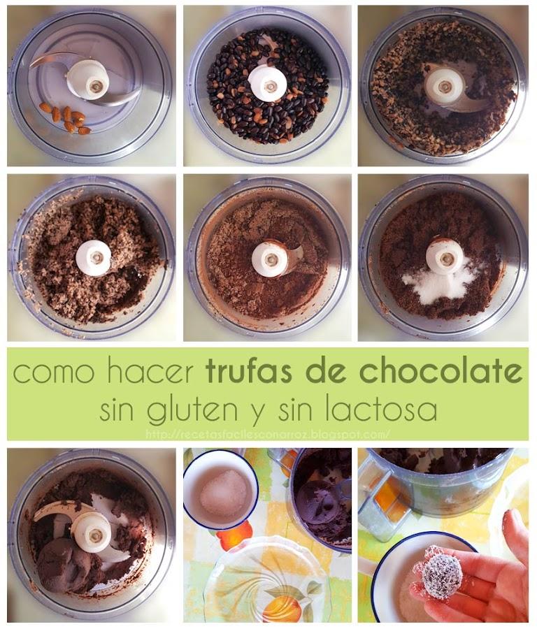 trufas chocolate fototutorial